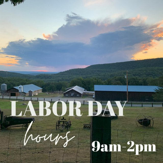 Plan ahead since our store will be closing early this Monday 9/7 in observance of Labor Day ⏰ . . . #diemandfarm #wendellma #farmstore #holidayhours #laborday #shoplocal #buylocal #familyfarm #westernma #franklincounty #pioneervalley #othersidema #visitwesternma #igers413 #newengland_igers #igersmass #massachusetts_igers #massagriculture #farmstyle #massgrown #stillfarming